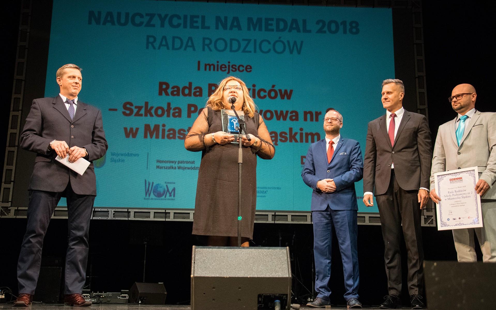 """Finałowa gala prestiżowego plebiscytu """"Dziennika Zachodniego"""" Nauczyciel na Medal 2018 20"""