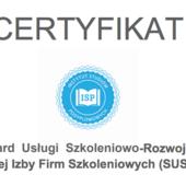 Certyfikat standard sus 2.0