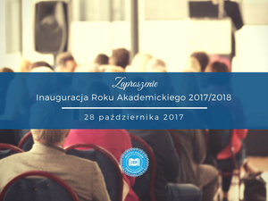 zaproszenie na inaugurację roku akademickiego