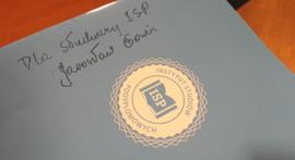 Wicepremier Gowin dla ISP dedykacja