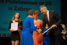 """Finałowa gala prestiżowego plebiscytu """"Dziennika Zachodniego"""" Nauczyciel na Medal 2018 2"""